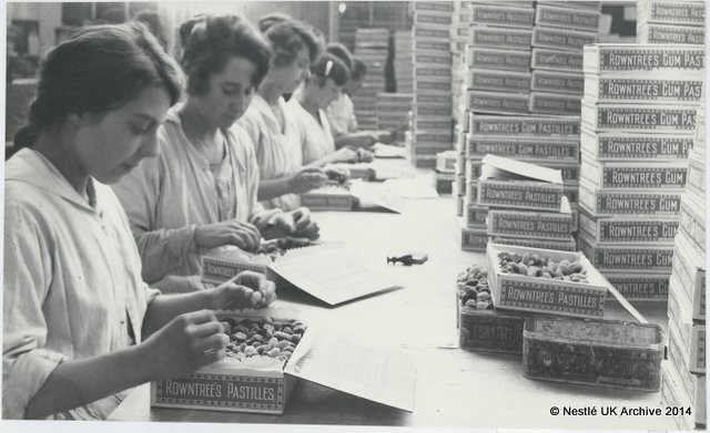 Girls Packing Sweets